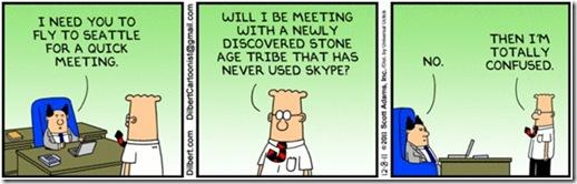 Dilbert - Skype
