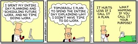 Dilbert plans