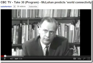 Marshall McLuhan on future work
