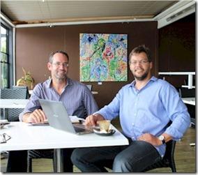 Matt Dunstan co-working