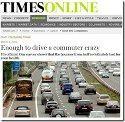 Times Online Commuter Crazy