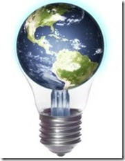world light bulb