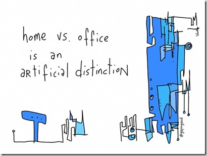 Gapingvoid - home work distinction